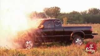 Hunter Shoots and Explodes Truck
