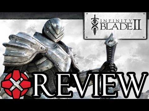 iphone game reviews - Check out more of our recommended games at the App Store here: http://bit.ly/WXbeVK The new Apple iPad, iPod, and iPhone game Infinity Blade 2 is much more t...