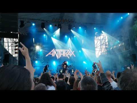 Anthrax - Among the Living - Live Budapest,Barba negra track-2017.06.21.