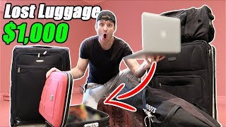 Video I Bought $1000 Lost Luggage at an Auction and Found This… (Buying Lost Luggage Mystery Auction) MP3, 3GP, MP4, WEBM, AVI, FLV Juli 2018