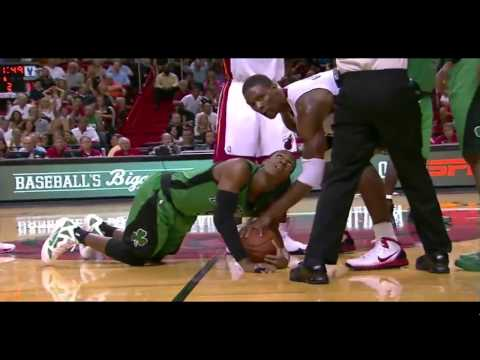 Chris Bosh so upset over technical foul - Heat vs. Celtics