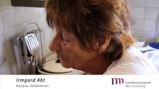 Irmgard Abt, Hausfrau aus Steinenbronn