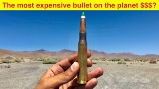 Video The Most Expensive Bullet in the World MP3, 3GP, MP4, WEBM, AVI, FLV September 2019