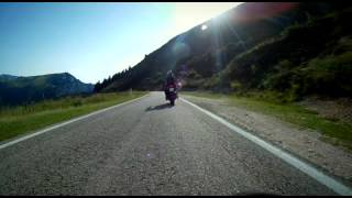Caprino Veronese Italy  city photos : Onboard from Mori to Caprino Veronese 2 of 2, Italy, Triumph Tiger 1050