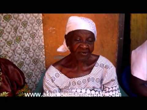 akumaamamazimbi - 115year old lady shares her experience with Mama Zimbi. The Widows Alliance Network (WANE) project for sustainable economic development of widows aims at ema...