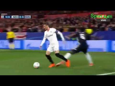 Манчестер Юнайтед – Севилья лучшие моменты
