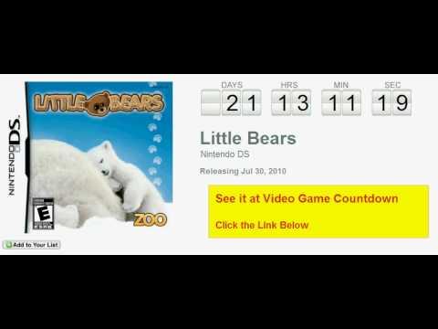 little bears nintendo ds game