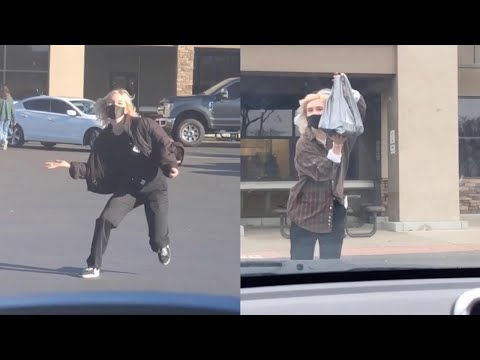 Girlfriend picked up from work compilation