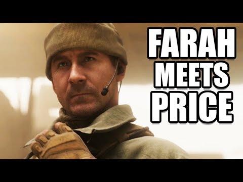 CALL OF DUTY MODERN WARFARE - Farah Meets Captain Price