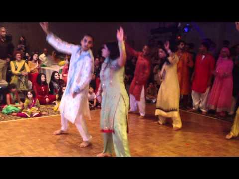 Salmon & Shamsa's Mehndi Dance