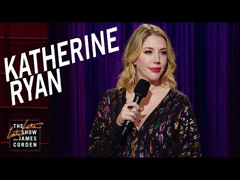Katherine Ryan StandUp on The Late Late Show