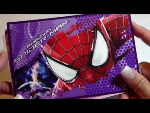McDonald's Happy Meal Spider Man Stationery Set