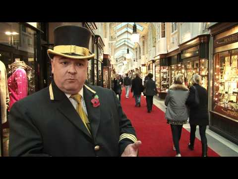 Mark Lord, Head Beadle of the Burlington Arcade talks about the restoration plans