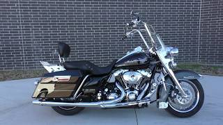 9. 604342   2010 Harley Davidson Road King   FLHR