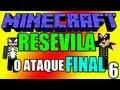 """Minecraft: Aventura: """"Resevila"""" - Episódio 6 """"O Ataque Final!"""" (Fim)"""