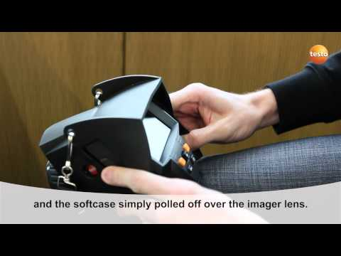 testo 875i - Step 15 - How to remove the soft-case