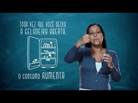 Campanha de Uso Racional de Energia - Libras - Geladeira - Eletrobras Distribuição Rondônia