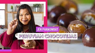 Peruvian Chocotejas | Good Times With Jen by Tastemade