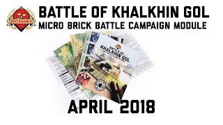 Battle of Khalkhin Gol Micro Brick Battle Campaign Module & Battle Pack - Custom Military Lego