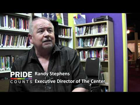 Pride Counts to Randy Stephens at The Center 2012