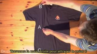 Plier un t-shirt en 2 secondes