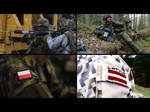 Four NATO battalions deploying to Estonia, Latvia, Lithuania and Poland