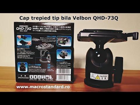 Prezentare Cap trepied tip bila Velbon QHD-73Q