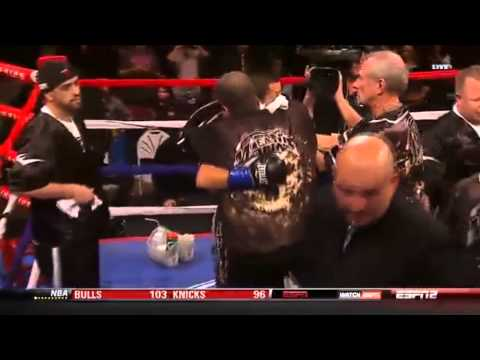 ESPN Friday Night Fights &#8211; January 11th 2013 &#8211; Dannie Williams vs John Molina Jr.