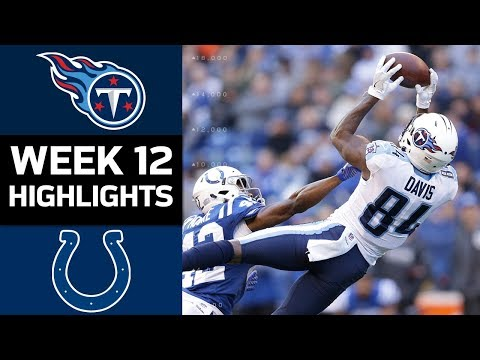Video: Titans vs. Colts | NFL Week 12 Game Highlights