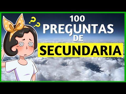100 Preguntas de Secundaria para Ponerte a Prueba 🤔
