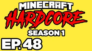 Minecraft: HARDCORE s1 Ep.48 - • THE WITHER BOSS BATTLE IN HARDCORE MODE!!! (Gameplay / Let's Play)