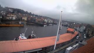 Whitby Mon 14th Sep 2015 24-Hour Time-lapse (Upriver)