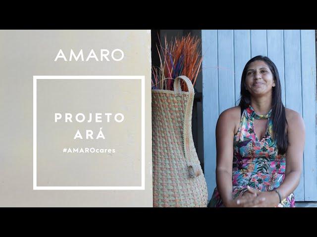 AMARO Cares | Projeto ARÁ - Amaro