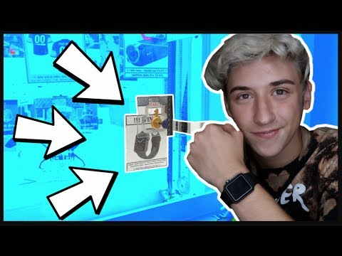 ★Winning An APPLE WATCH From The Keymaster Arcade Game!!! + More Awesome Claw Machine Wins!!!