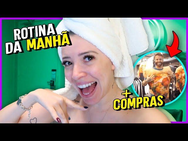 MINHA ROTINA DA MANHÃ EM VIAGEM- Ep 09 - Taciele Alcolea