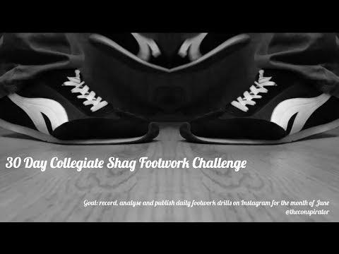 30 Day Collegiate Shag Footwork Challenge