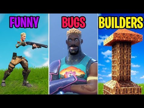 Reddit funny - *FUNNIEST* Bugs of 2018! FUNNY vs BUGS vs BUILDERS! Fortnite Funny Moments