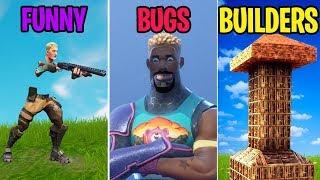 Video *FUNNIEST* Bugs of 2018! FUNNY vs BUGS vs BUILDERS! Fortnite Funny Moments MP3, 3GP, MP4, WEBM, AVI, FLV Desember 2018