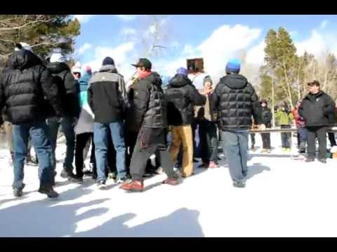 Jackson Hole High School: Wyoming HS Nordic Championchips 2012