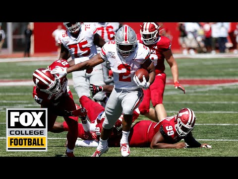 Video: Ohio State RB J.K. Dobbins highlights & postgame interview vs. Indiana | FOX COLLEGE FOOTBALL