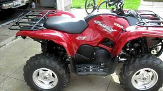 1. My 2009 Yamaha Grizzly 700 SE