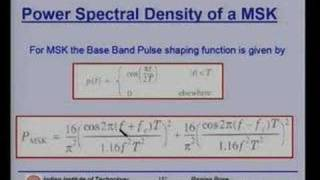 Lecture - 26 Modulation Techniques (Contd.)