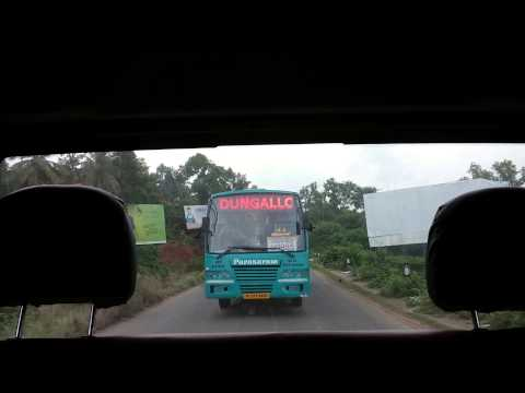 Kerala Bus - Parasuram - Super Fast Permit bus between Sulthan Bathery and Paravur. One among the few mofussil buses with AC in Kerala.