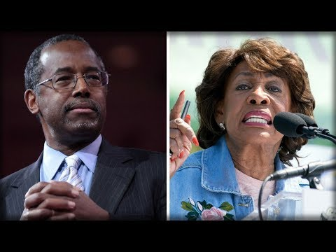 """MAXINE WATERS ACCUSES BEN CARSON OF BEING """"WHITE-WING NATIONALIST"""" ISSUES BIZARRE THREAT"""