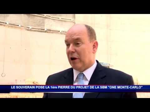 S.A.S. le Prince Albert II lance le complexe ONE Monte-Carlo