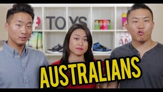 ASIAN AUSTRALIANS vs. ASIAN AMERICANS | Fung Bros