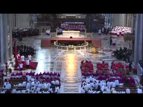 raw - Pope Francis presided over Good Friday Mass at the Vatican on Friday evening. (April 18)
