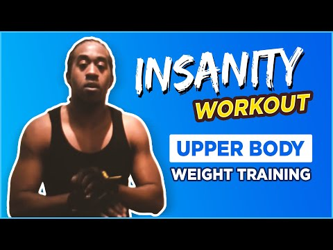 Insanity Workout Upper Body Weight Training DVD