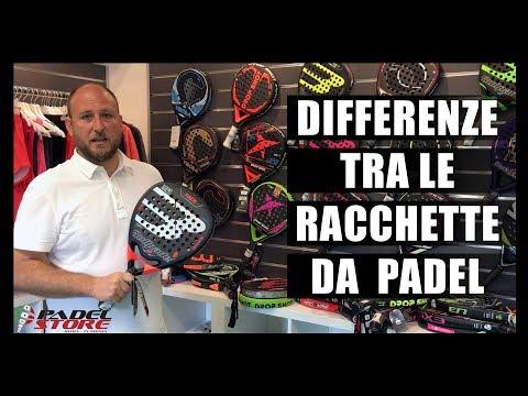 Che differenze ci sono tra le racchette da Padel?