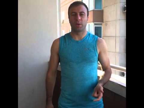 Артур Едигарян ice bucket challenge (видео)